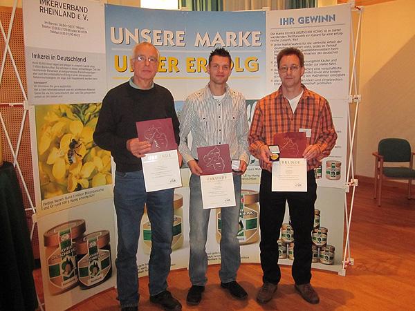 Imker des Bienenzuchtvereins Saarburg erreichen Spitzenstellung