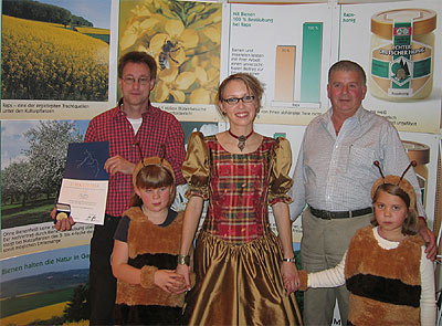 Irscher Bienenhonig erneut mit zwei Goldmedaillen ausgezeichnet