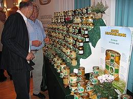 Ein Teil der eingereichten Honige