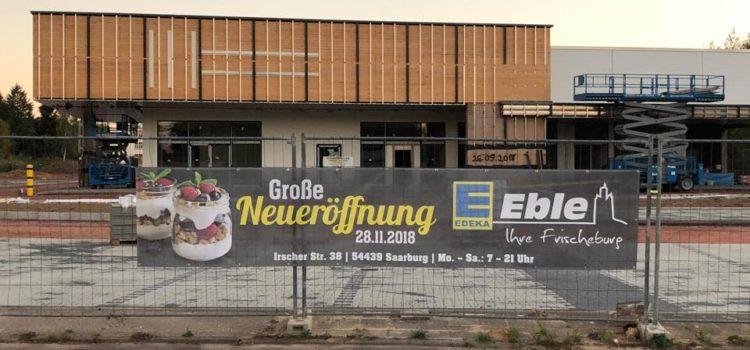 Unser Honig im Edeka Eble in Saarburg